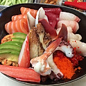 Chirashi bowl (  25 pieces )
