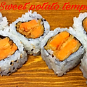 Sweet potato tempura roll