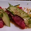 Yellowfin tuna appetizer