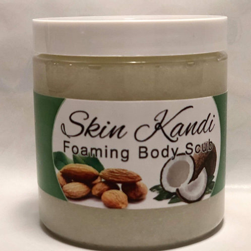 Coconut & Almond Foaming Body Scrub