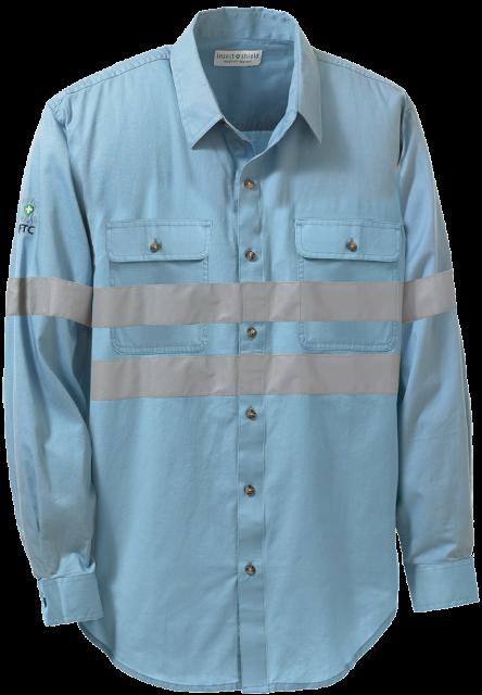 Twill Work Shirt Hi-Vis