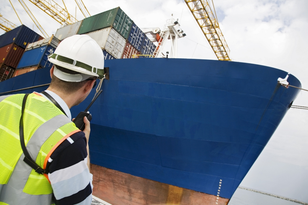 Container ship and worker resized.jpg