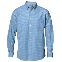 Mini-Plaid Wrinkle Resistant Shirt