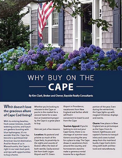 Bayside Realty Article + Designed Ad