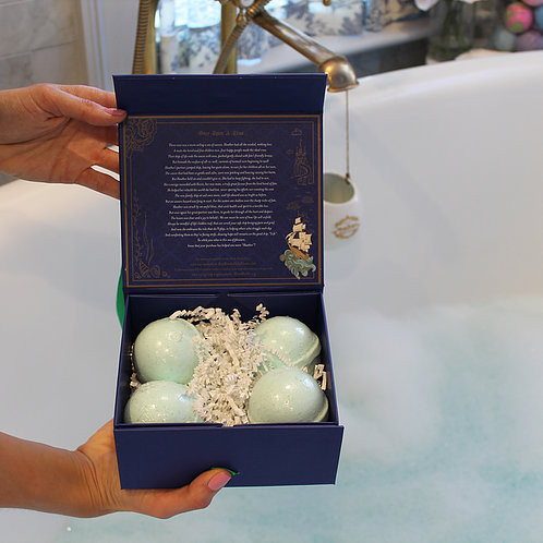 Calm Bomb CBD Bath Bomb Gift Set for Fathers Day
