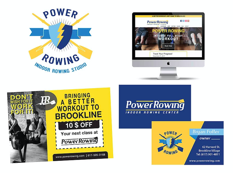 Power Rowing Branding