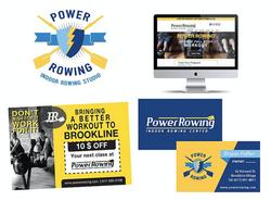 Power Rowing Branding