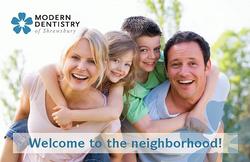 Modern Dentistry Postcard