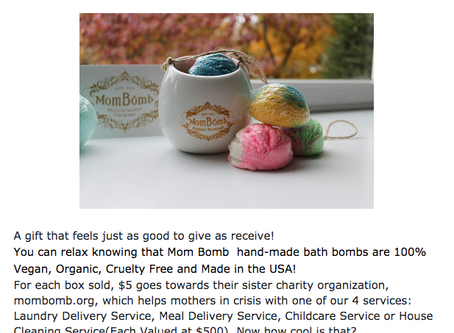 Featured in Mother's Day Gift Guide 2019!
