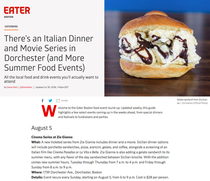 Check us out in Eater Boston!