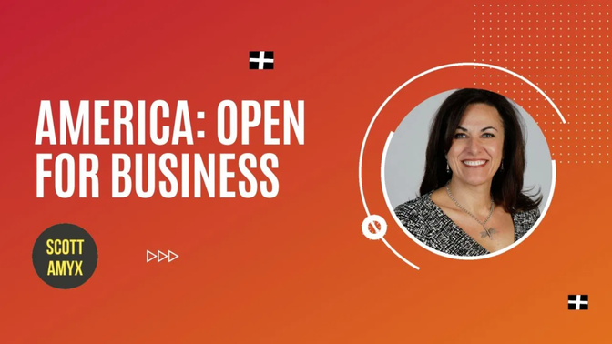 Our President, Maria Addario-Alter, was interviewed on America Open For Business with Scott Amyx