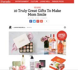 Mom Bomb in Parade Magazine