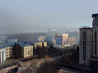 Museum of Revolution of Dignity, Kyiv, Ukraine