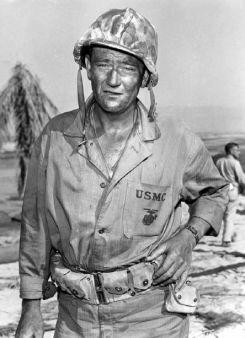 John Wayne aka Sgt John M. Stryker