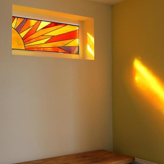 Sunlight through my window.