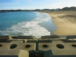 阿字ヶ浦の海岸