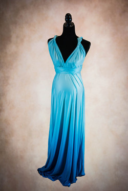 Eternity Sea Blue Maternity Gown