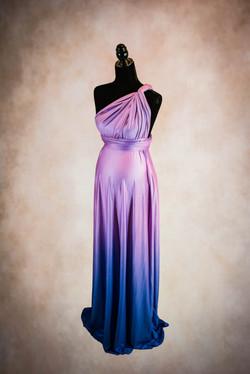 Eternity Purple Maternity Gown