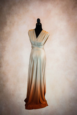 Eternity Sunset Ombre Maternity Gown