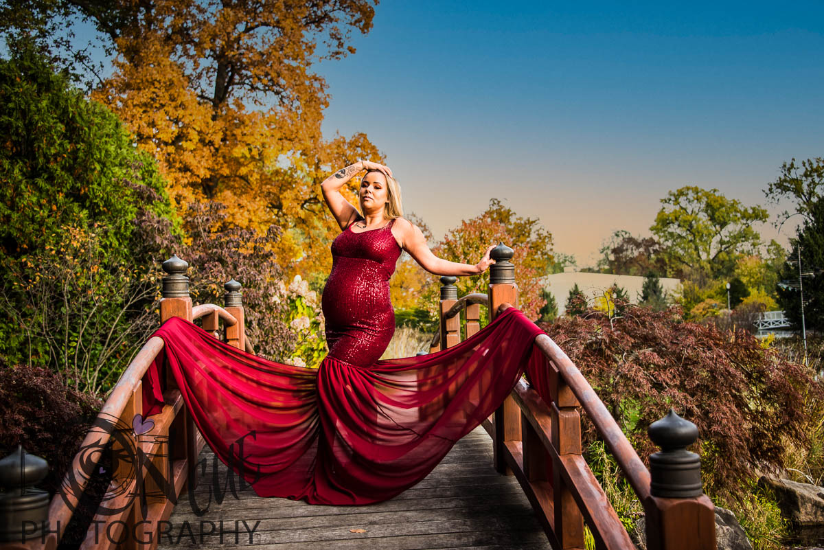 High Fashion Outdoor maternity