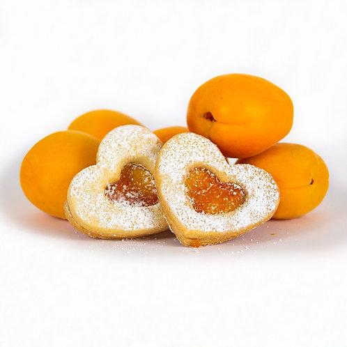 Apricot Occhi Di Bue - 18 cookies