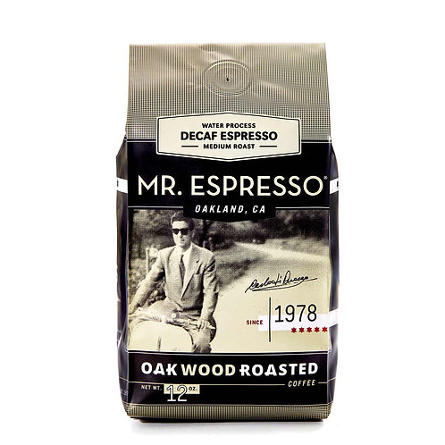 Mr. Espresso Decaffeinated Espresso