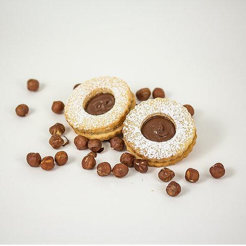 Nutella Occhi Di Bue - 18 cookies