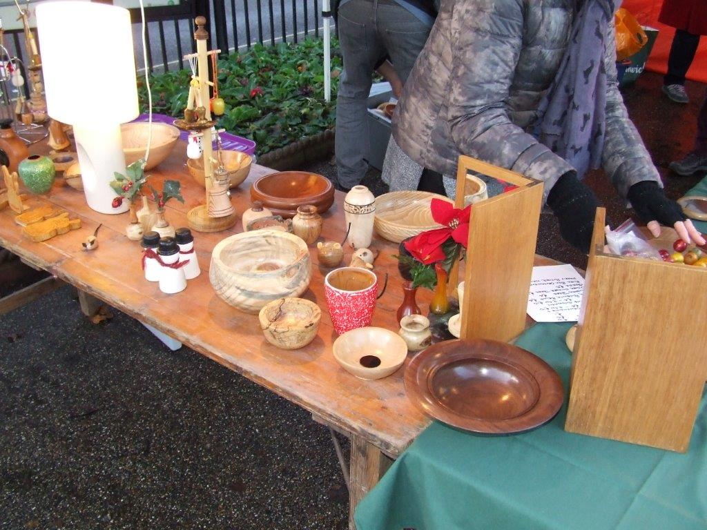 Woodturned items