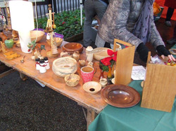 Woodturned items