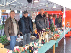 Colchester Woodturners Stall 2016