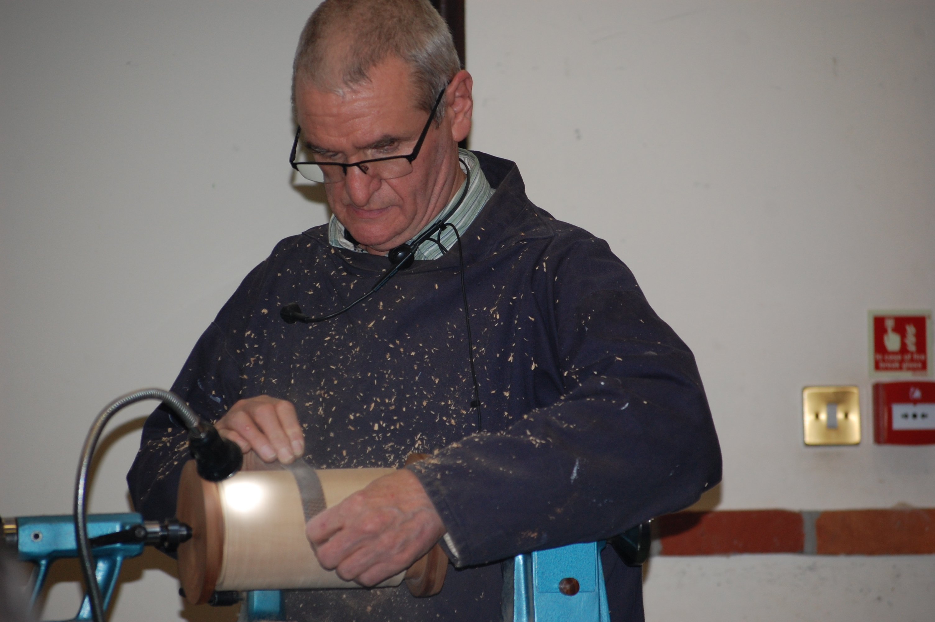 Colchester Woodturners Chairman