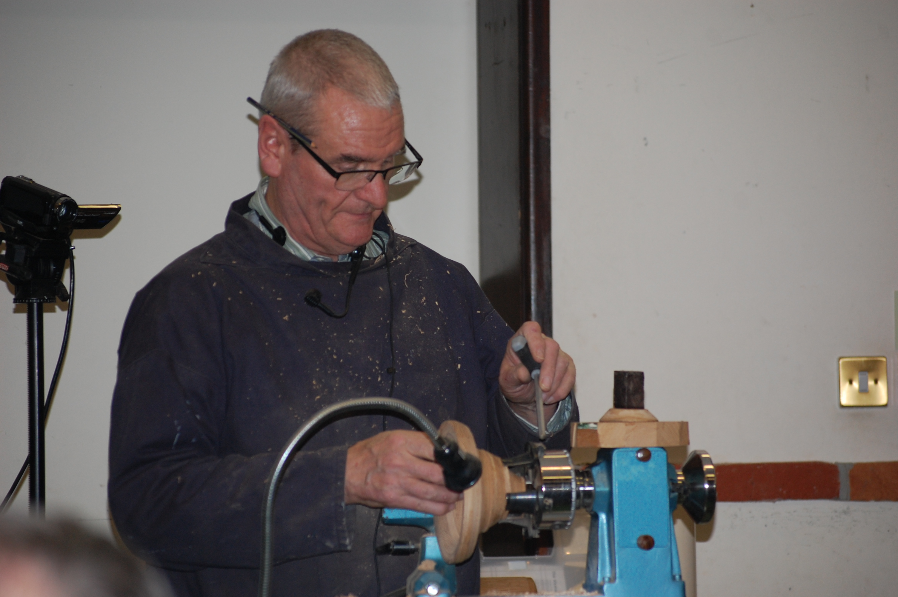 Colchester Woodturners Demonstration