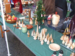 Colchester Woodturners Display