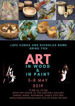 Art in Wood & Paint