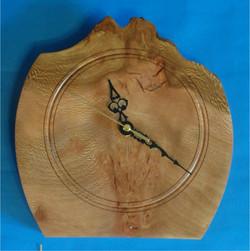 Lacewood Clock