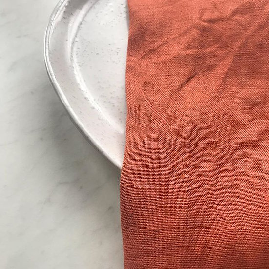 Cinnamon French Linen Napkin
