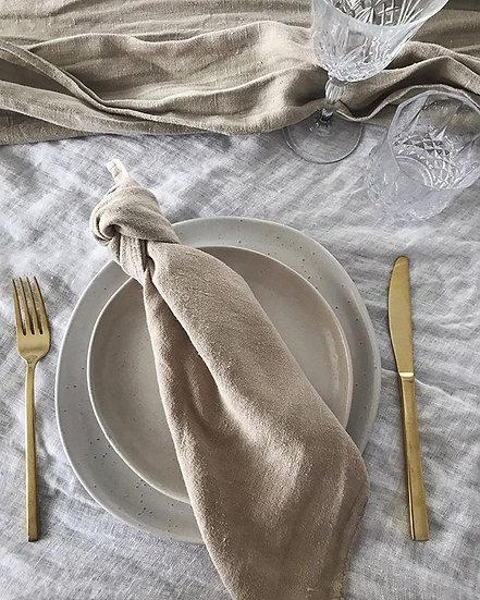 Natural Ceramic Side Plate