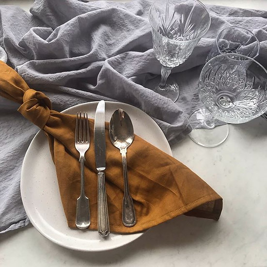 Gold French Linen Napkin
