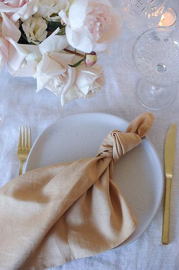 Caramel Linen Napkin