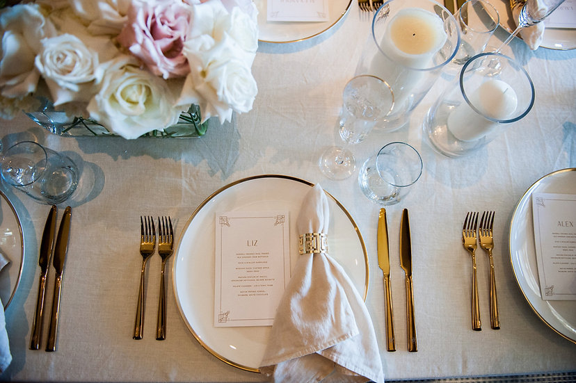 Ivory French Linen Table Cloth 2.8 x 2.8m