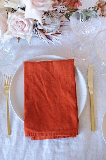 Clay French Linen Napkin
