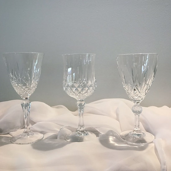 Crystal Wine Glass (RCD mixed lot)