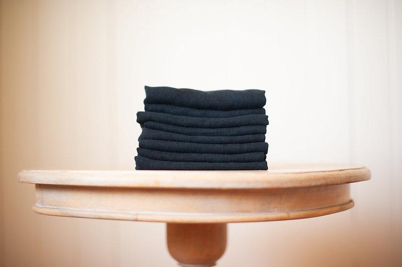 Dark Blue Linen Napkin