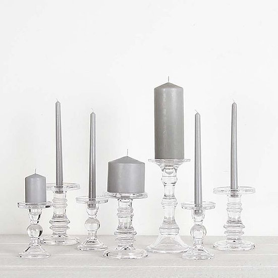 Modern Glass Candle Stand