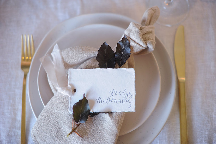Oatmeal French Linen Napkin