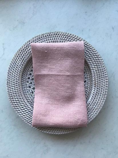 Wildflower Pink Linen Napkin