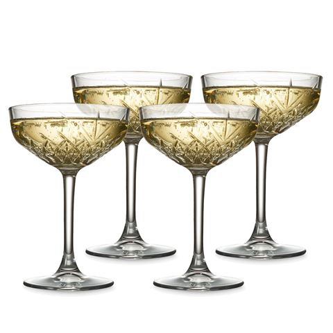 Modern Champagne Coupe
