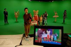 On the set, Music Box
