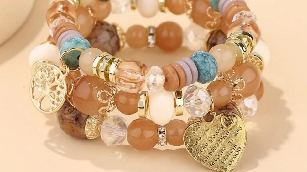 Sarah Stretch Bracelet Set