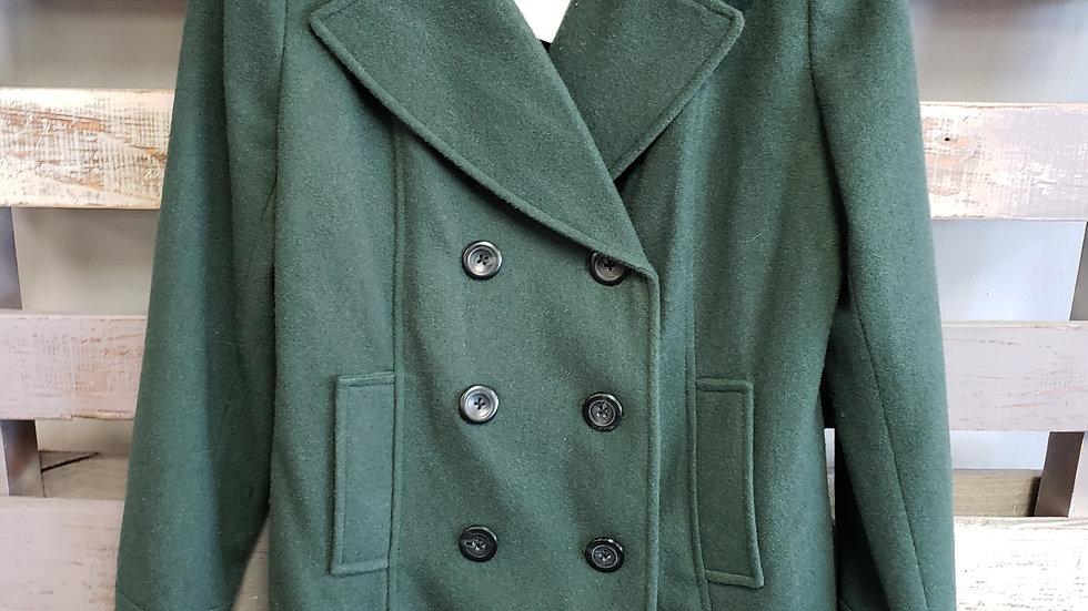 Merona Wool Pea Coat sz M